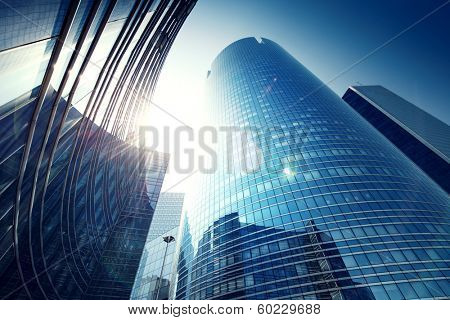 Paris LaDefense - modern skyscraper