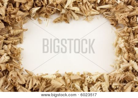 Wood Shavings Frame