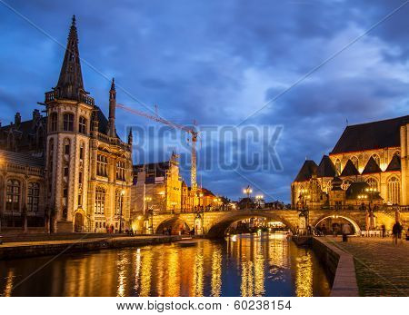Sint Michiels bridge, Ghent