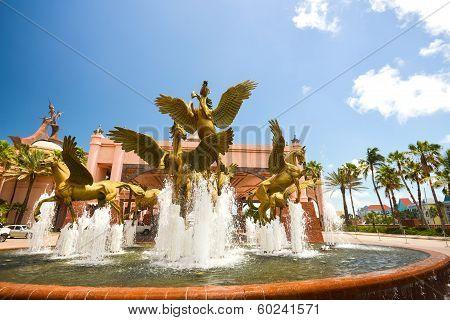 Atlantis Fountain - Horse