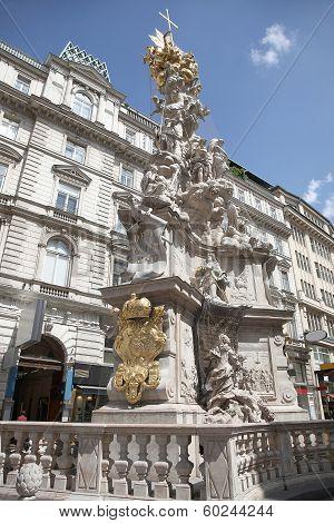 Vienna. Plague Column