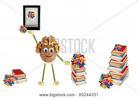 Funny Little Man Of The Walnut Offers Electronic Book