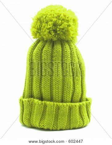 Flashy Green Cap