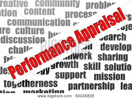 Performance Appraisal Word Cloud