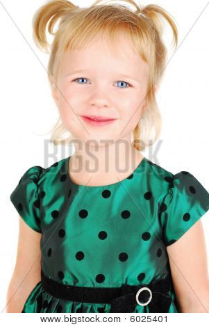 Beautiful Little Girl Portrait