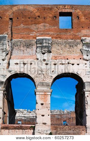 Colosseum -architectural detail