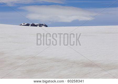 Iceland. Southeast Area. Skalafelllsjokull Glacier.