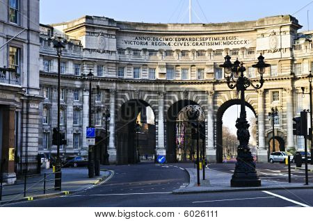 Admiralty Arch In Westminster London