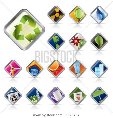 Realistic Icons - Ecology