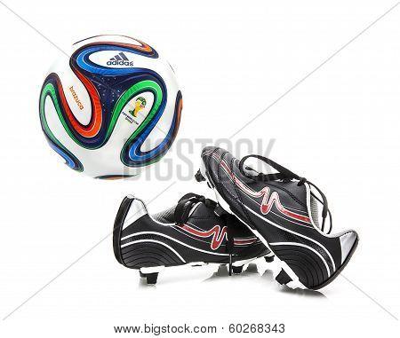 Adidas Brazuca World Cup 2014 Football