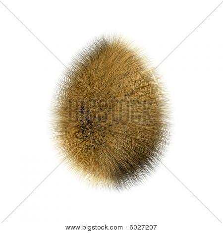 Furry egg