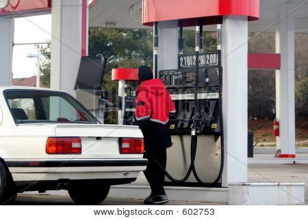 At The Pump
