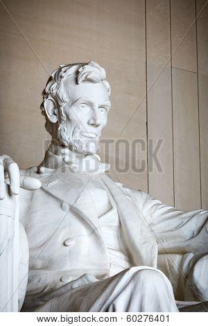 Statue of Abraham Lincoln, Lincoln Memorial, Washington DC