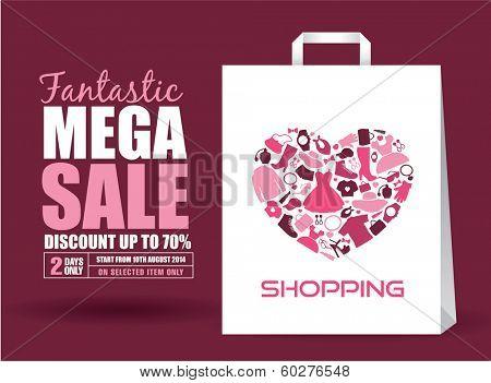 Mega Sale Poster