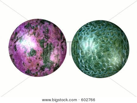 Two 3D Spheres