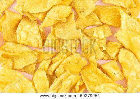 Cassava Fried Background