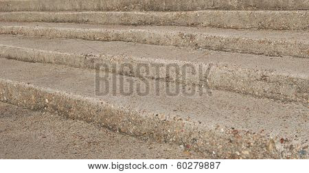 Old Cement Steps