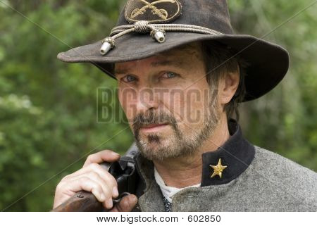 Civil War Reenactment Sniper, Gun