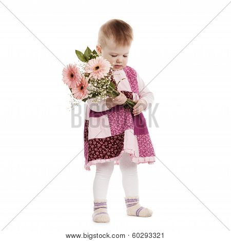 little beautiful modest girl