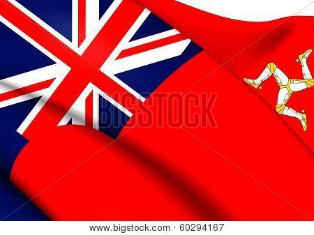 Isle Of Man Civil Ensign