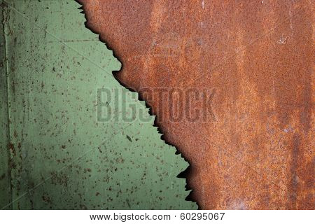 Rusty Surface Of Corroded Metal