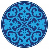 picture of ottoman  - a pattern designed from traditional Ottoman motifs - JPG