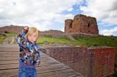 Child Castle Ruin Tourism