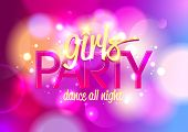 stock photo of hen party  - Girl - JPG