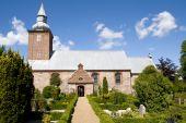 Medieval Danish Church poster