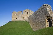 pic of bailey  - Considered one of the finest examples of a motte and bailey castle in scotland - JPG