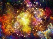 stock photo of big-bang  - Universe Is Not Enough series - JPG