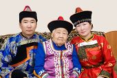 stock photo of mongolian  - buryat  - JPG