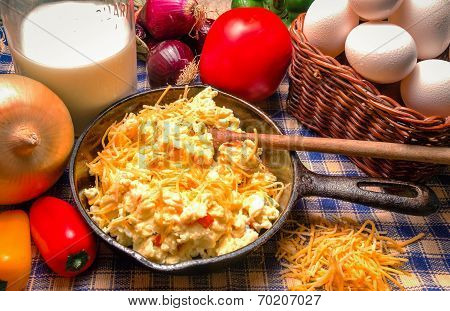 Western Style Scrambled Eggs