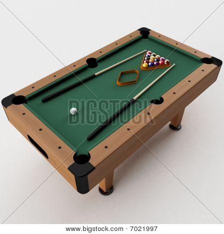 Pool-Tisch