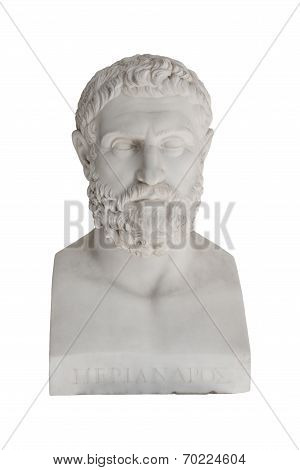 Isolated Bust Of Periandros