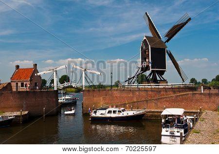 Medieval Dutch Town Heusden