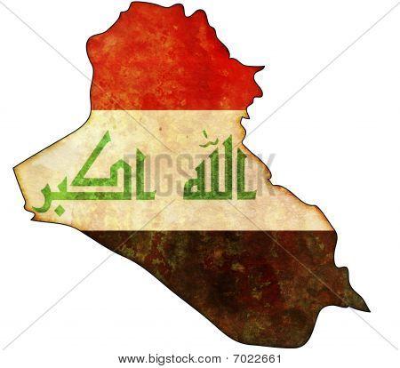 Irak Karte