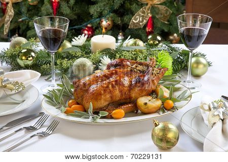 Roasted Duck For Holiday