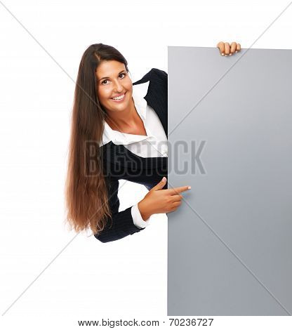Sign Business Woman