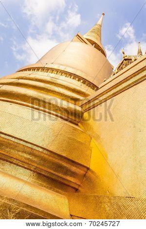 Stupa Made Of Gold