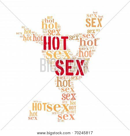 Hot Sex Word Cloud