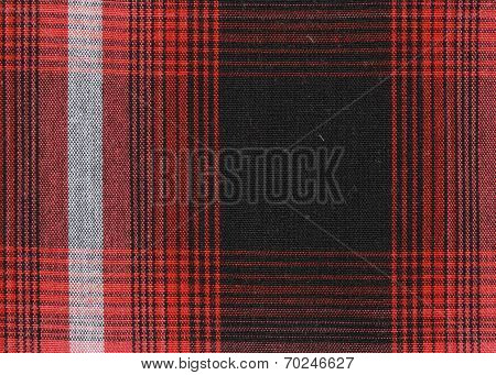Gingham Tablecloth Texture Background