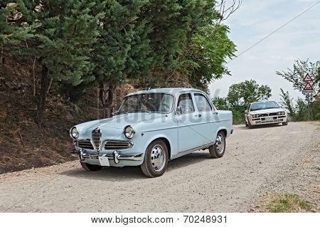 Vintage Italian Car Alfa Romeo Giulietta