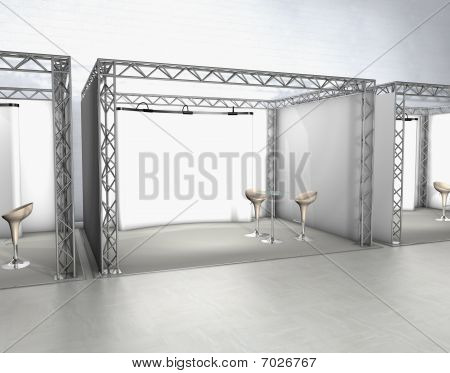 Trade exhibition stands