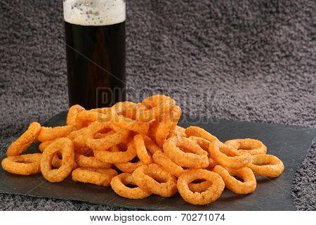 Onion Flavoured Crispy Snacks