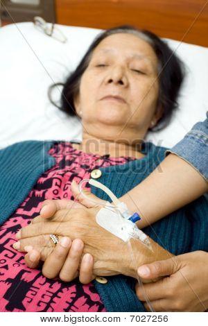 Care To Old Sick Grandparent