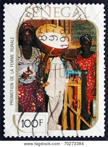 Postage Stamp Senegal 1980 Rural Women Workers