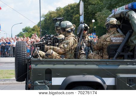 Military Police in Poland