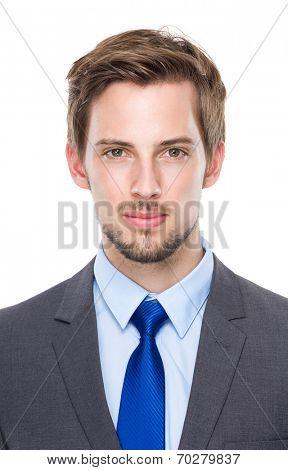 Caucasian business man