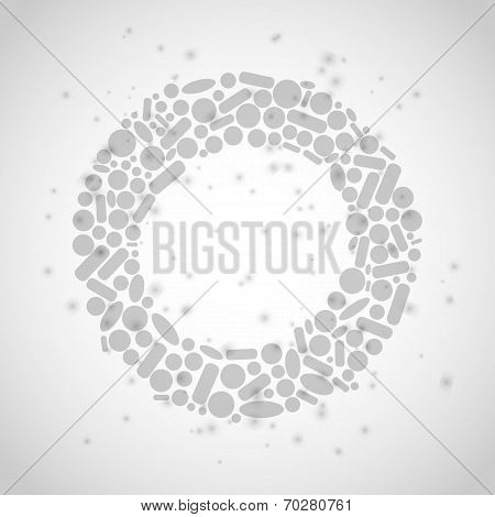 tablets Abstract ardent background. Vector